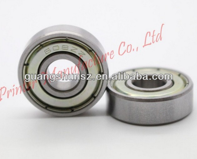 608ZZ ABEC-5 8X22X7 608Z Miniature Ball Radial Ball Bearings 608 2Z Deep Groove Radial 608 Ball Bearings