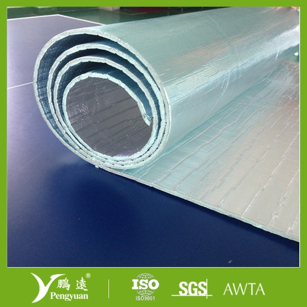 Heat woven foil XPE insulation for exhausts