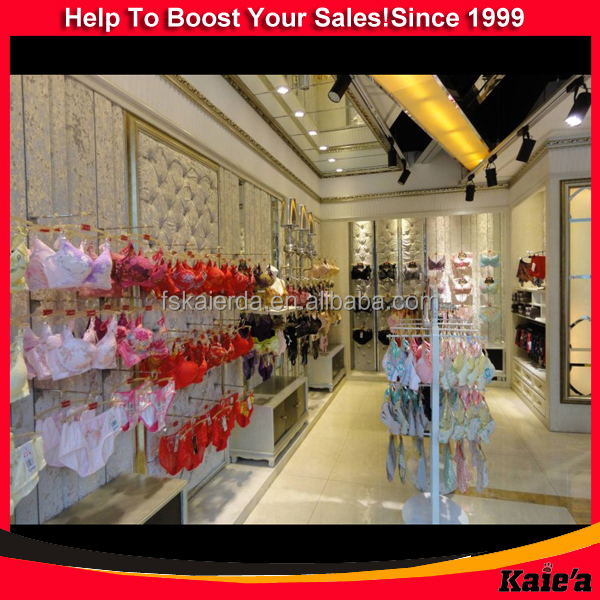 Underwear Store Design,Underwear Display Shelf,Underwear Display Rack