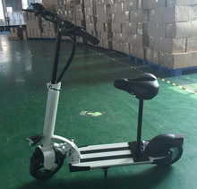 36V350W Electric Scooter with LED lights / Seat Motorized Kick Mobility Scooter CE / Rohs / FCC Approved