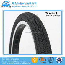 2016 new pattern 20x2.125 bicycle tyre/kids bike tyre/bicycle tires price