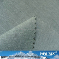 Bamboo Fiber Polyester Spandex Fabric For Shirt