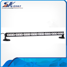 54W hotsale single side LED warning light bar slim shape offroad strobe traffic adviser RL6P-013