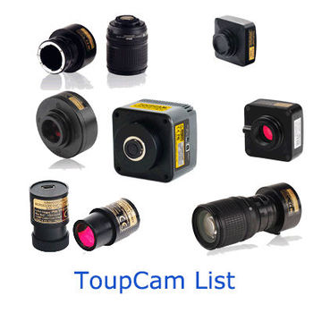 ToupCam Camera List
