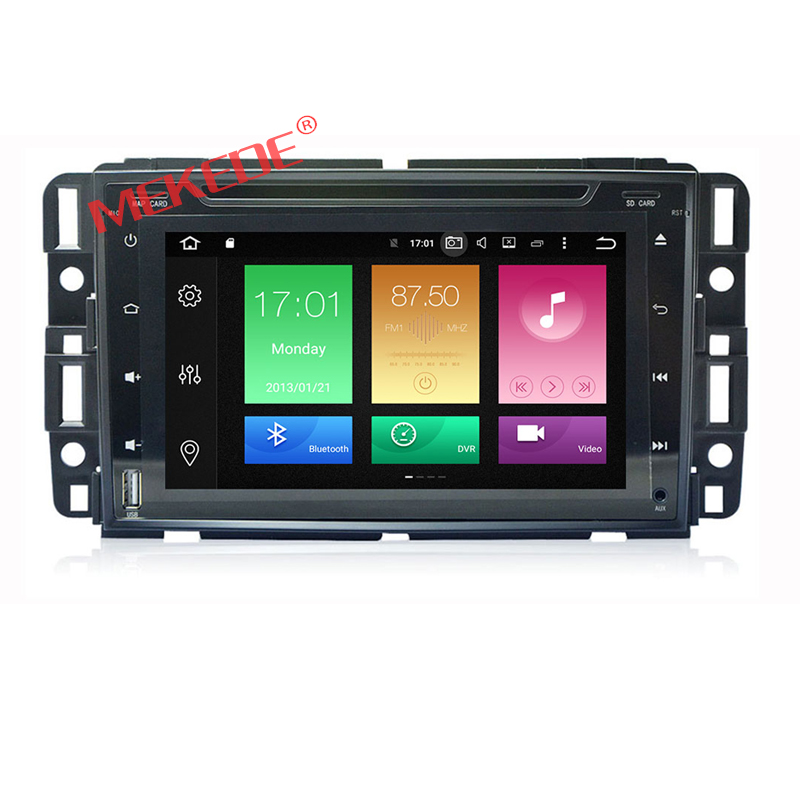 Two Din 9 Inch Android 6.0 Car DVD Player For GMC/Yukon/Savana/Sierra/Tahoe/Acadia/Chevrolet/Express/Traverse 2G RAM 32G ROM