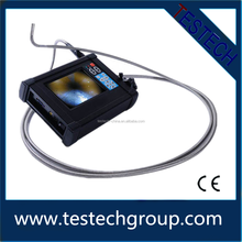 360 degrees articulating industrial endoscope 6mm probe with 3m testing cable