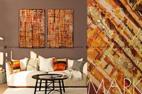 Furniture interior decoration oil painting on canvas wall art simple abstract paintings
