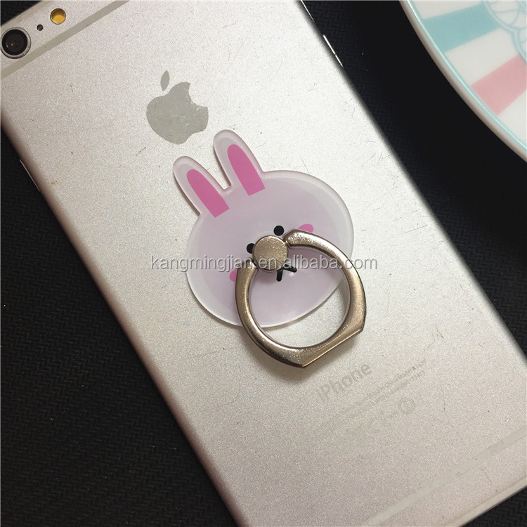 Customized cell phone ring holder cheap price finger ring holder mobile phone holders with metal material