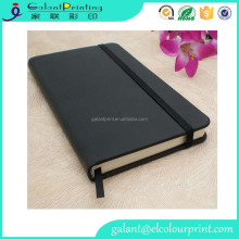 High quality premium pure paper leather notebook printing in china