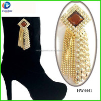 Jewelry Boot Clip Rhinestone Chains Shoes