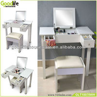 Chinese factory makeup vanity table wholesale