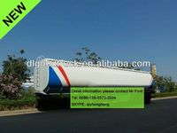 China carbon steel 40000-60000L 3 axles trailer diesel gensets 0086-13635733504