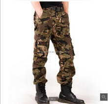 New Arrival Men military style cargo Trousers /cargo pants for work /camouflag pants