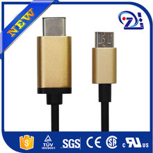 usb 3.0 cable for iphone 6, ultra thin usb cable with Aluminum ring