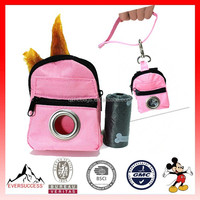 fashionable lovely designed luxury pet bag with a waste bag (ES-Z043)