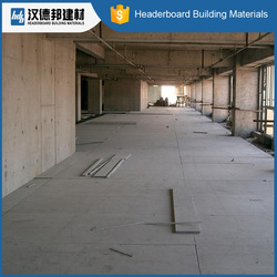 Factory supplier newest simple design fiber cement board 18mm flooring fast shipping