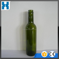 The Newest hot sale promotion 375ml round giant glass wine bottle