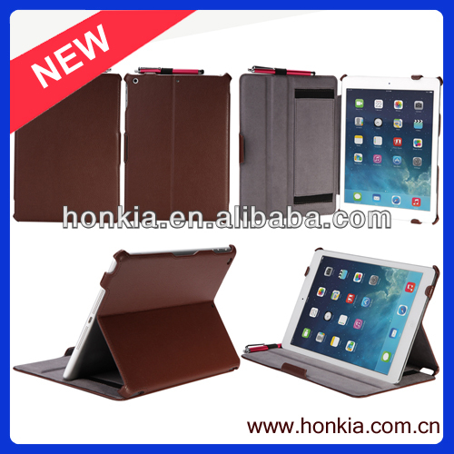 The Newest Luxury Colorful Leather Case 9.7 inch 10 inch waterproof tablet case for ipad 5 very cheap
