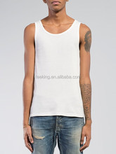 classic mens tank tops for gym 100% cotton in bulk