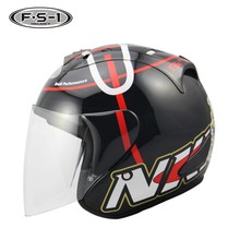 New model men women open helmet motocross DOT