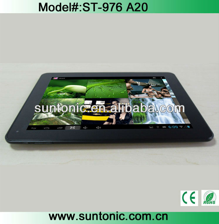 9.7 inch cheap dual core tablet pc with stable peformance