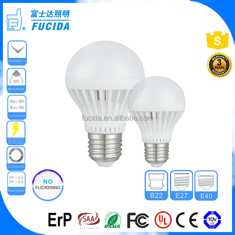 manufacturers of led bulbs A80 E27 B22 E40 25W led lighting bulb SMD ALU+PC Energy Saving light bulbs led