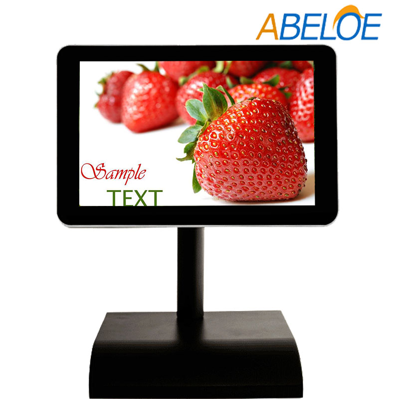 "led advertising screen wifi 3g funtion indoor used 10.1"" small size advertising player"