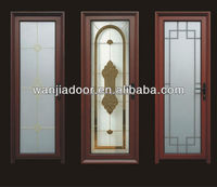 home entrance double glazing glass gates from china manufacturer