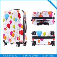 cheap 20/24/28 3PCS spinner trolley travel ABS PC Luggage