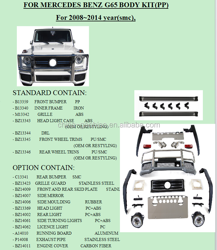 List manufacturers of mercedes benz g class parts buy for Find mercedes benz parts