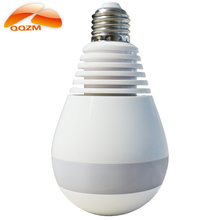 360 wireless ip bulb light hidden v380 panorama wifi video camera for home security