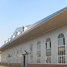 (HFW-1)Large Span Prefabricated Steel Structures residential industrial buildings