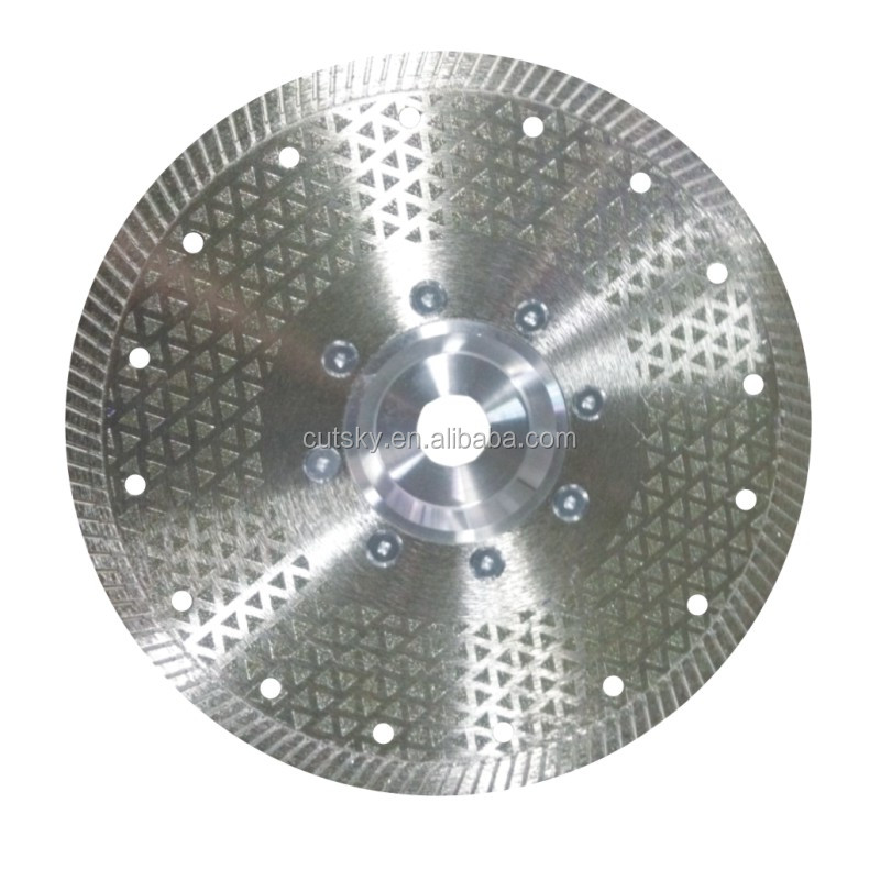 7 Inch Electroplated Diamond Cutting Discs for Cutting Stone