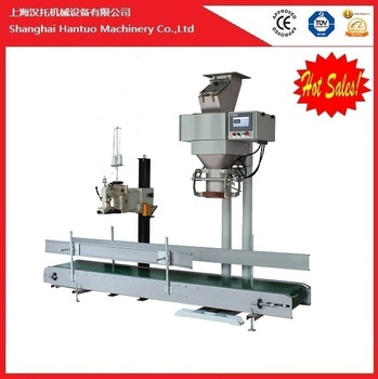 High precision bulk granulated sugar rice weighing packing machine