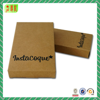 Custom Printed Packaging Gift Boxes Brown