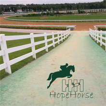 Eco Friendly Vinyl/Plastic/PVC Horse Fence Panel