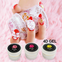 nail art designs 3D sculpture UV gel nail 4D hot sale