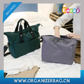 Encai Solid Casual Weekend Traveling Bag 2Pcs/Set Fashion Younger Duffel Bag