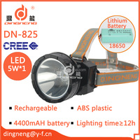 emergency ABS ourdoor camping hunting rechargeable headlamp led light