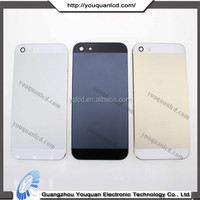 BIG NEWS! 2015 new product for iphone 5 24k gold plating back cover with good quality