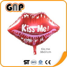 Wholesale High Quality Cute Lip Foil Balloon Decoration Party Balloon