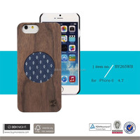 For Iphone 6 6S Case Cover, Wholesale Wood Bamboo Phone Bumper for iPhone, Ultra Slim Clothing Cover for iPhone6 Plus