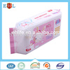 2015 Newest design Cheap Comfortable oem wet tissue