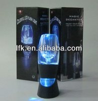 2014 Xmas Gift Unique LED Magic Decanter, Red Wine Aerator LFK-008A