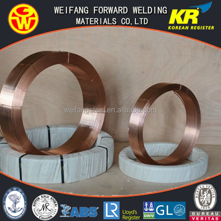3.2mm China Welding Material Submerged Arc Welding Wrie EL12 saw wire
