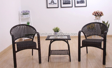 Synthetic rattan/wicker hand-made/hand-knitted armchair/Hotel/balcony/pool side/furniture