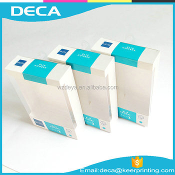 Custom window packaging box paper window box cardboard paper packaging box