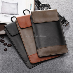 100% Genuine Leather Waterproof Mobile Phone Bag Case/ Custom Printed Handmade Waterproof Shoulder Cell Phone Bag