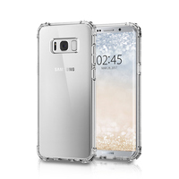 2017 New Cell PC Ultra Thin Clear TPU Phone Case For Samsung Galaxy S8