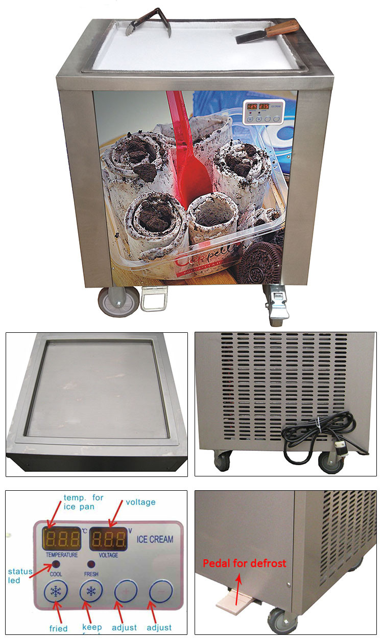 Fried yogurt maker machine commercial fried ice cream yogurt machine frozen yogurt machine prices